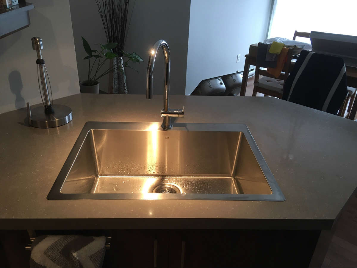 Night light sink
